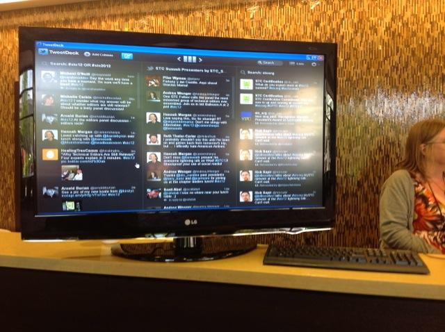 Certification traffic on TweetDeck