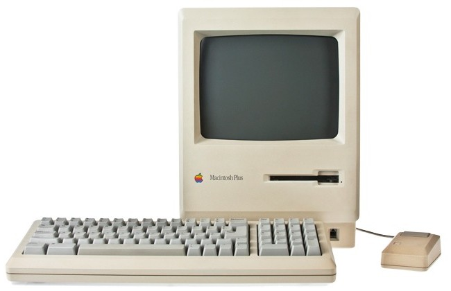 Photo of Macintosh Plus, from shrineofapple.com